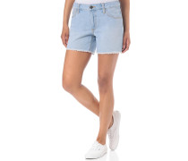 Boyfriend Cut Off II - Shorts - Blau