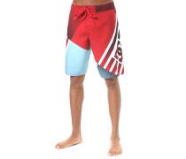 Verticular 21 - Boardshorts - Rot