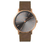 Porter Lthr - Uhr - Braun