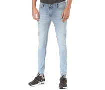 Him Spray - Jeans - Blau