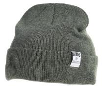RBB Basic Melange Mütze - Grün