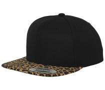 Animal Snapback Cap - Schwarz