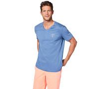 T-Shirt - T-Shirt - Blau