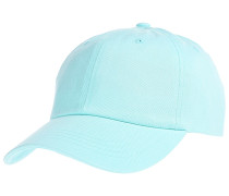 Peached Cotton Twill Dad Cap - Blau