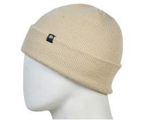 Standard Roll Up Mütze - Beige