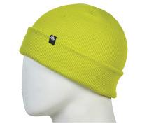 Standard Roll Up Mütze - Gelb