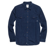 Pembroke L/S - Hemd - Blau