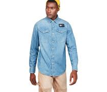 Bristum Utility Straight - Hemd - Blau