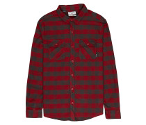 All Day Flannel L/S - Hemd - Karo