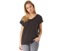 Travel Striped - Outdoorshirt - Schwarz