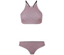 Tiide Maoi Print - Bikini Set - Pink