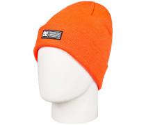 Label Mütze - Orange