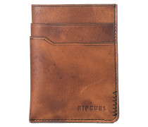 Handcrafted Slim Card - Geldbeutel - Braun