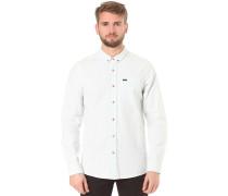Clast L/S - Hemd - Weiß