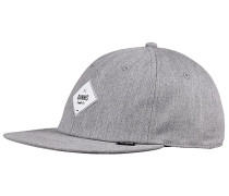 6P SB Deconstructed Diamond Snapback Cap - Grau
