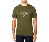 Chapped Airline - T-Shirt - Grün