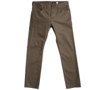 Vorta 5 Pocket Slub - Stoffhose - Beige