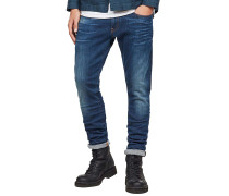 3301 Deconstructed Super Slim/Maure Superstretch - Jeans