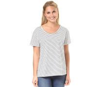 Just Simple Stripes - T-Shirt - Blau