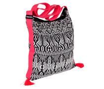 Black&White Cross Body Bag - Tasche - Schwarz