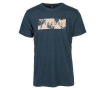 Undertone Yard - T-Shirt - Blau