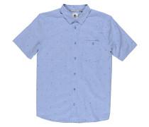 Bowmont S/S - Hemd - Blau