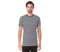 Classic Stripe 2 - T-Shirt - Blau