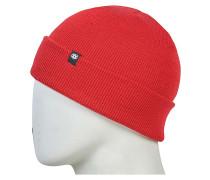 Standard Roll Up Mütze - Rot