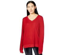 Love-Print - Sweatshirt - Rot