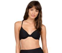 Simply Solid Uwire - Bikini Oberteil - Schwarz