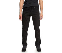 Worker Straight - Jeans - Schwarz