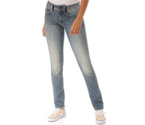 Midge Mid Straight Elto Superstretch - Jeans