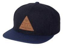 Cap Melton Snapback Cap - Blau