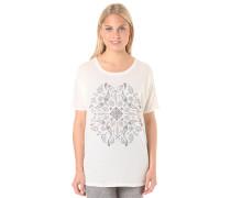 Batik - T-Shirt - Weiß
