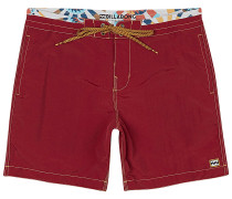 All Day Lt 17 - Boardshorts - Rot