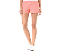 Chambray Girl - Shorts - Orange