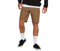 "Yutes Hybrid 20"" - Cargo Shorts - Braun"