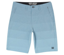 Crossfire X Faderade - Shorts - Blau