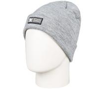 Label Mütze - Grau
