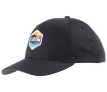 Camp II Snapback Cap - Schwarz