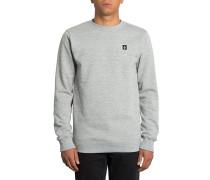 Single Stone Crew - Sweatshirt - Grau