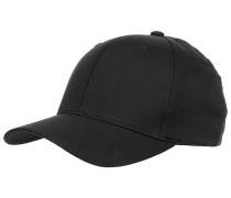Wooly Combed Cap - Schwarz