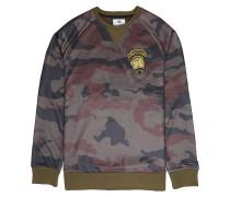 Downhill Crew - Sweatshirt - Camouflage