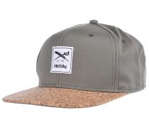 Exclusive Cork Snapback Cap - Grün