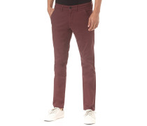 Flex Tapered - Stoffhose - Rot