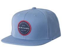 Mission Badge Snapback Cap - Blau