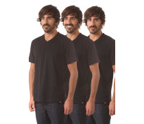 V Neck Pack - T-Shirt - Schwarz