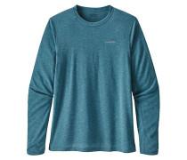 L/S Nine Trails - Outdoorshirt - Blau