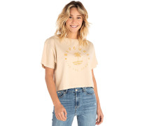 Island Sands Crop - T-Shirt - Beige