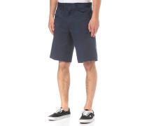 Stretch - Chino Shorts - Blau